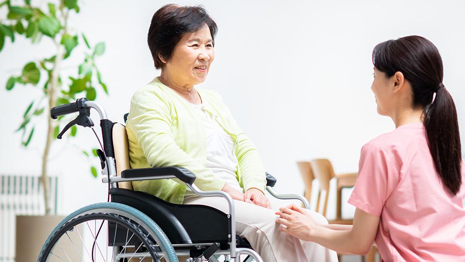 高齢者の方も 身体が不自由な方も安心の環境